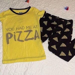 You Had Me At Pizza Kickee Pants Set